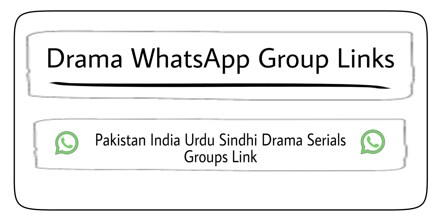 New Episode | Drama WhatsApp Group Links Join Drama Groups