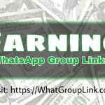 Earning WhatsApp Group Links
