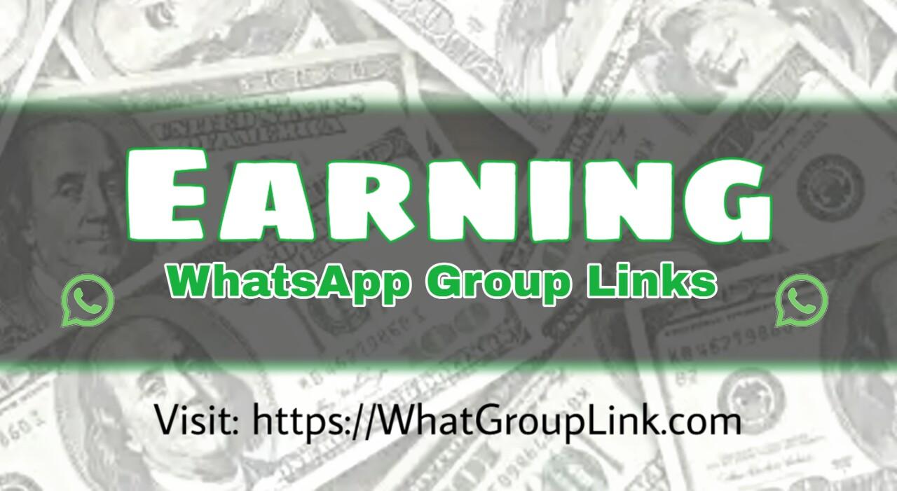 Earning WhatsApp Group Links 2020