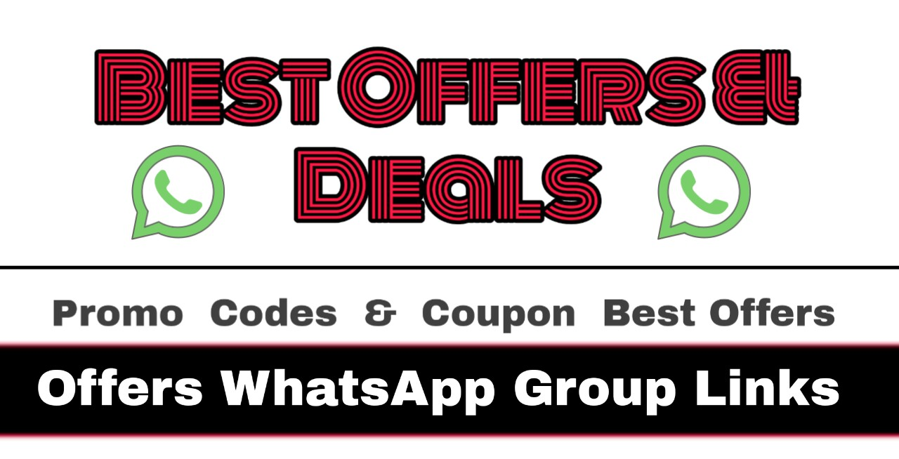 Only Offers WhatsApp Group Links