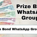Prize Bond WhatsApp Group Links