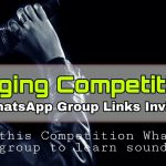 Singing WhatsApp Group Links
