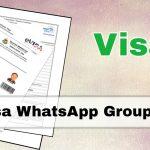 Visa WhatsApp Group Links