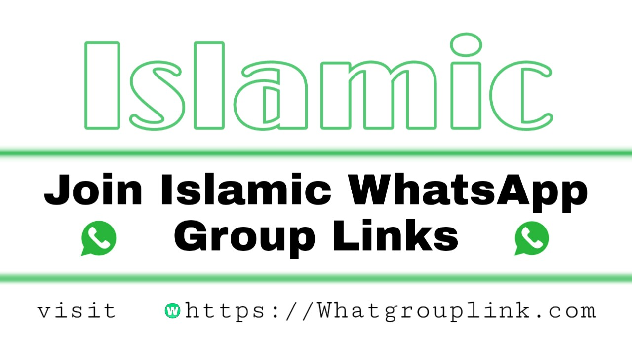 Join +786 Islamic WhatsApp Group Links