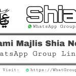 Shia WhatsApp Group Links