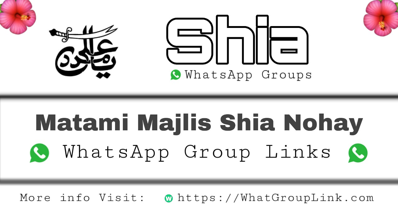 Latest Shia WhatsApp Group Links