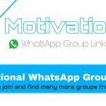 Motivational WhatsApp Group Links