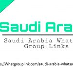 Saudi Arabia WhatsApp group links