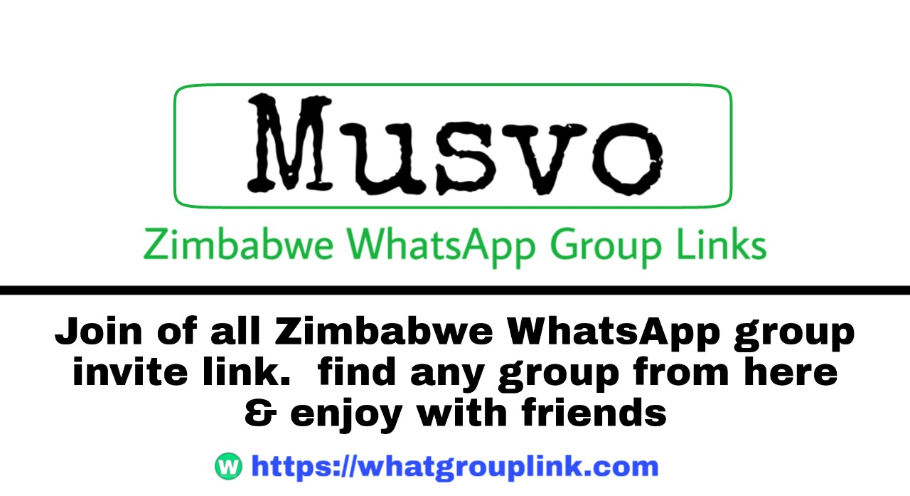 Join +5 Musvo WhatsApp group link + 2021