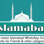 Islamabad WhatsApp group links