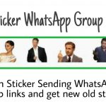 Sticker WhatsApp Group Links