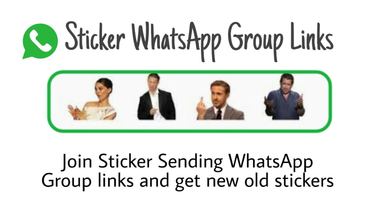Sticker WhatsApp Group Links 2021