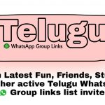 Telugu WhatsApp Group Links