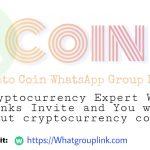 Coin WhatsApp group links 2021