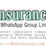 Insurance WhatsApp group link