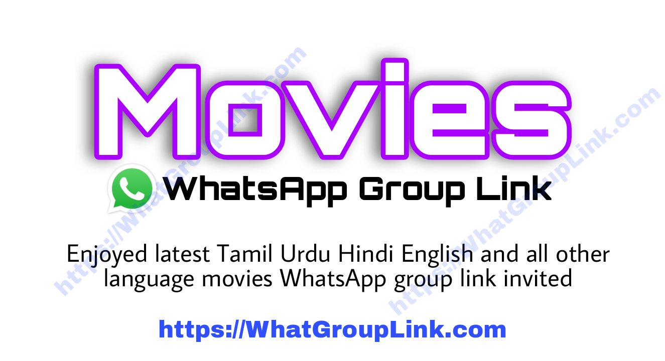Movies Films WhatsApp Group Link