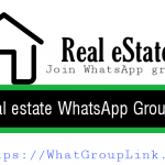 Real estate WhatsApp group link